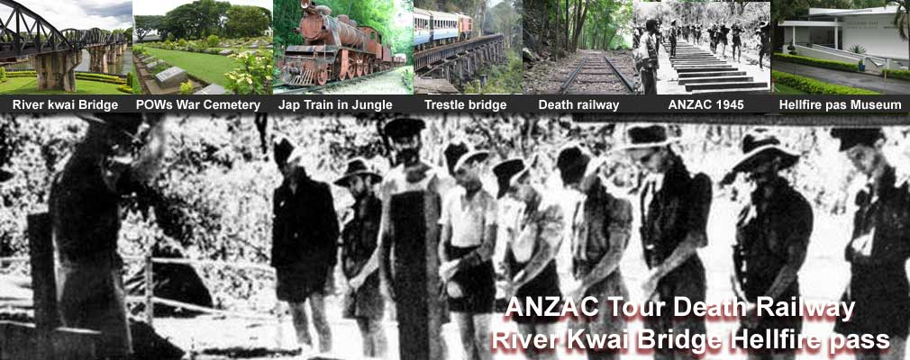 ANZAC 3 Day Tour Historical Death railway Hellfire pass Museum