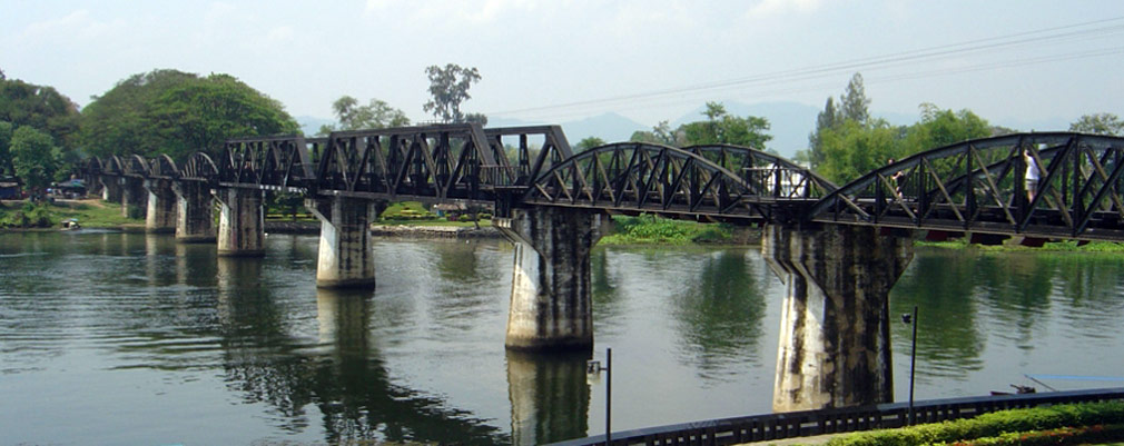 TH: Tigers Bridge on the river kwai and Hellfire pass